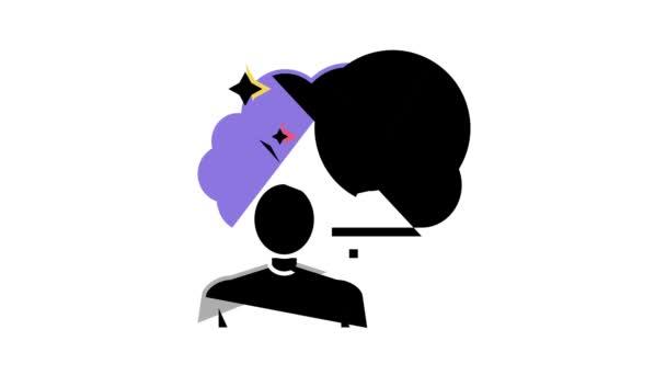 Reise Nostalgie Farbe Symbol Animation