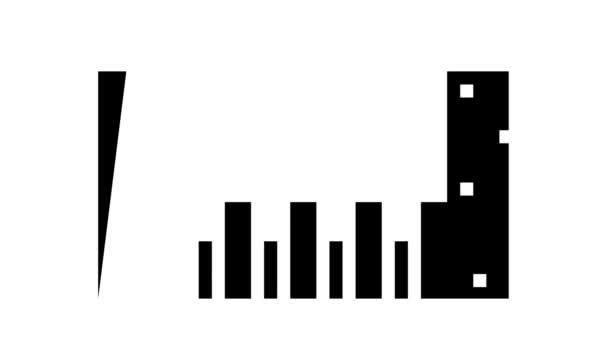 Unterfütterung Verstärkung Glyphen-Symbol Animation