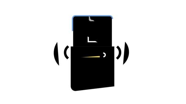 mobile Anwendung zur Steuerung und Einstellung von Smart-Home-Farb-Icon-Animation