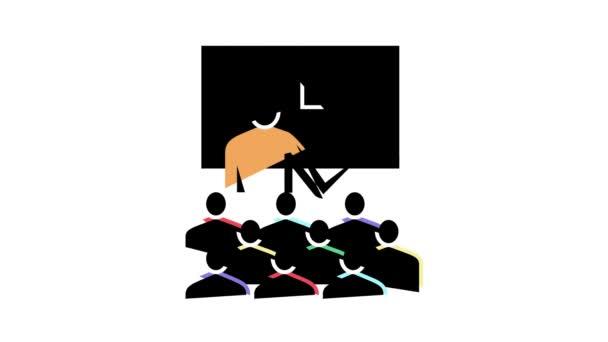 pedagogická lekce animace barev ikon