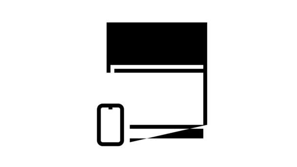 Animation der Fernbedienung für den Küchenherd