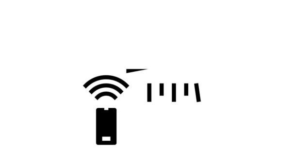Klimaanlage, Klimaanlage Glyphen-Icon-Animation