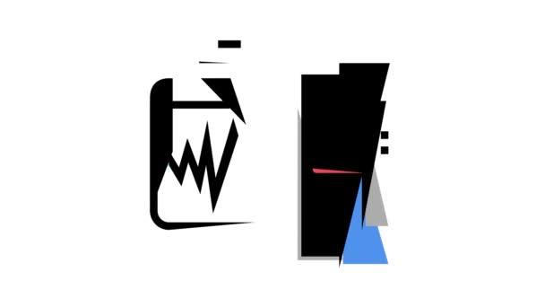 Animace ikon Laserová terapie Service