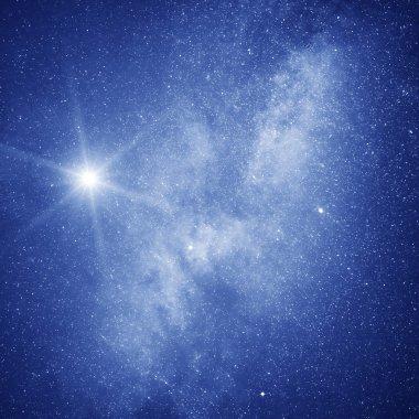 Starry sky.