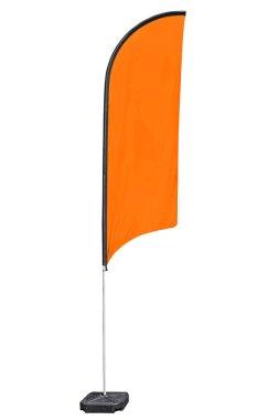 Advertising flag.