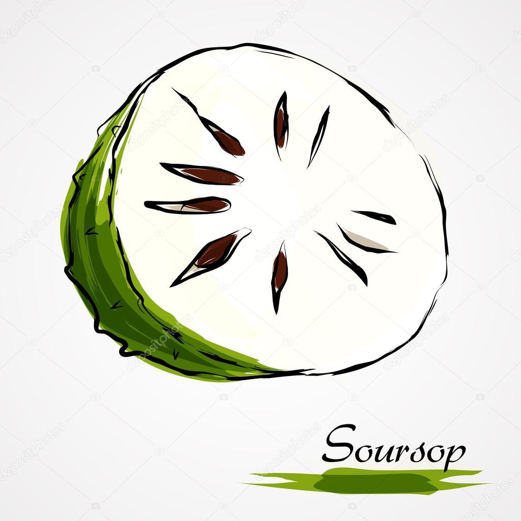 Soursop, guanabana