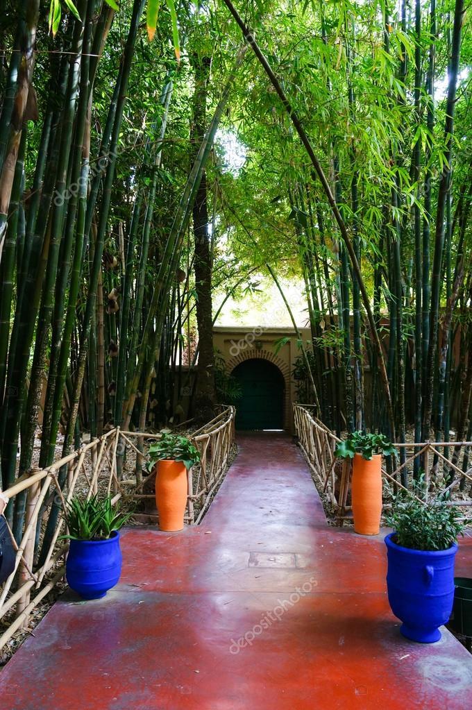 Jardin Jardin Majorelle En Marrakech Marruecos Fotos De Stock