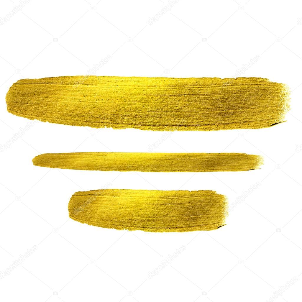 Mancha de tinta texturizada aquarela dourada  u2014 Fotografia de Stock #113490384