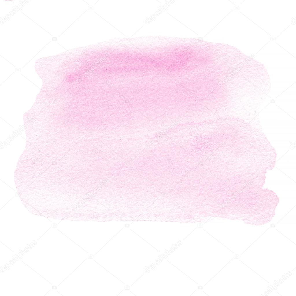 mancha de tinta rosa