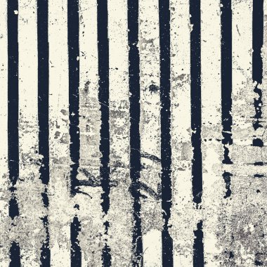 Stripped Background in grunge style.