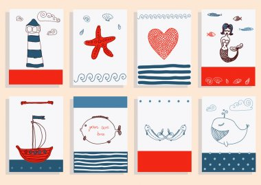 Greeting card  collection.