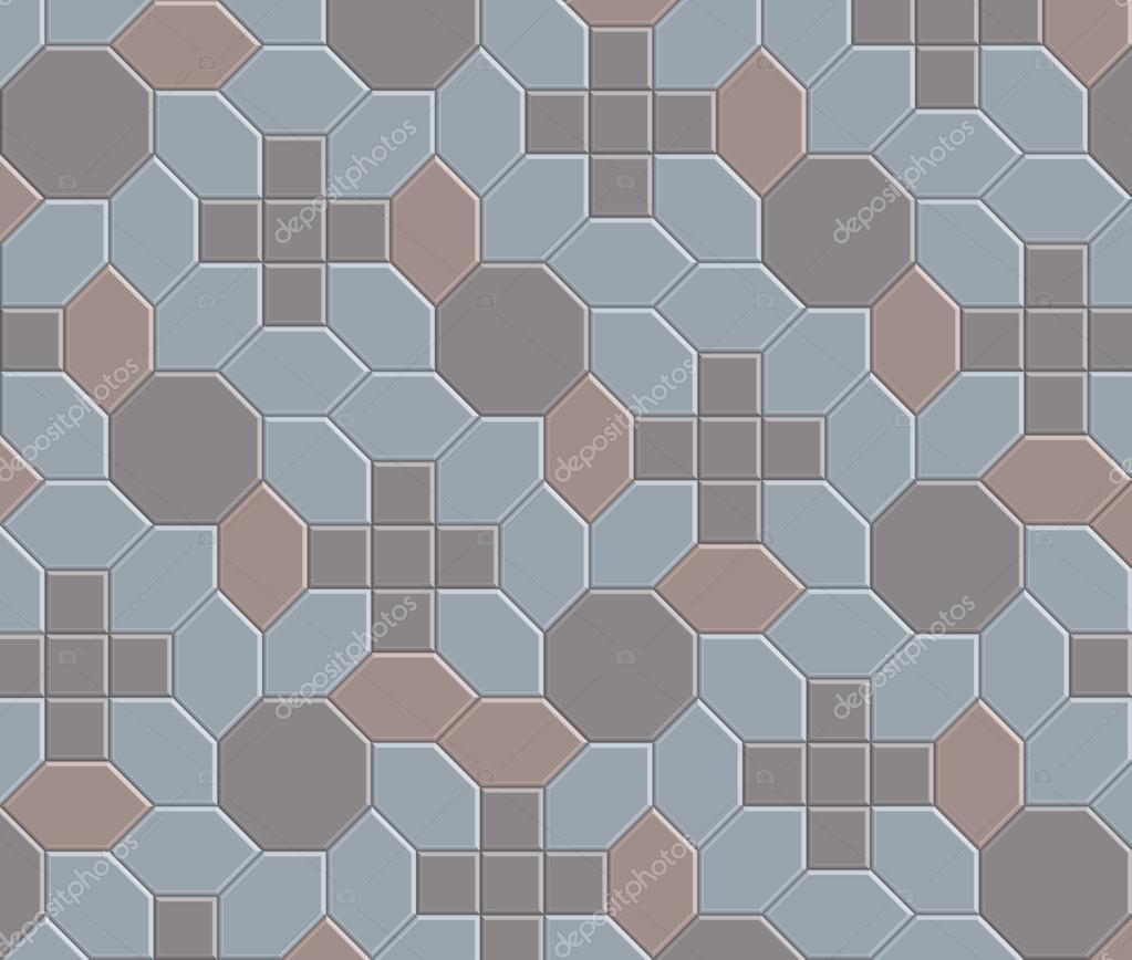 3D clay brick pattern floor-08 — Stock Vector © chartcameraman ...
