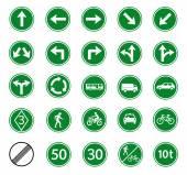 Fotografie regulatorische Verkehrszeichen