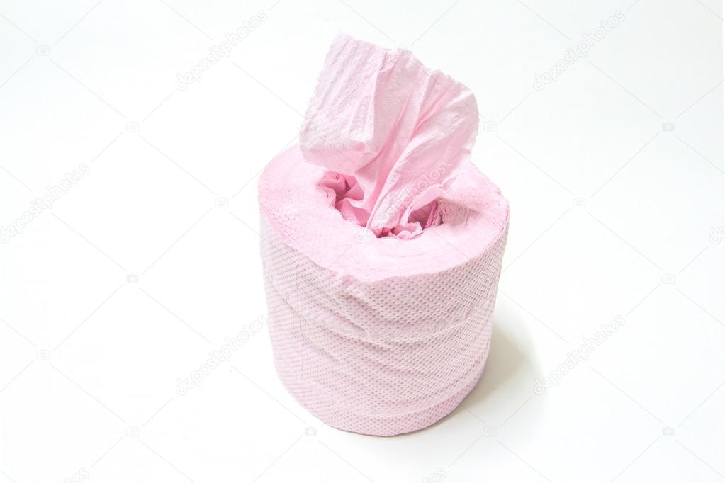 Rouleau De Papier Toilette Rose Photographie Ztudiototo 102836308