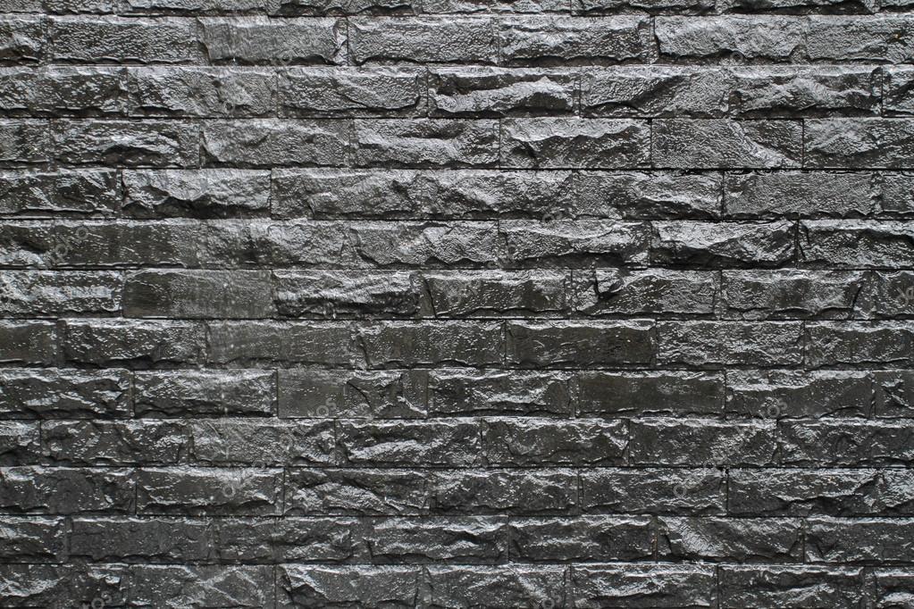 backstein schwarze wand hintergrund stockfoto 52526277. Black Bedroom Furniture Sets. Home Design Ideas