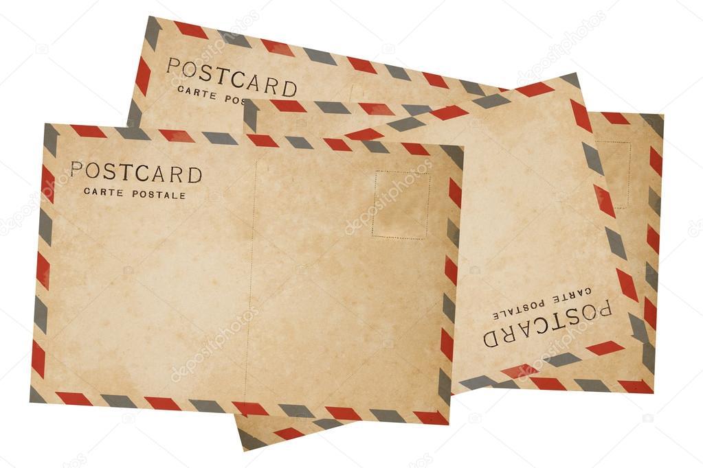 Новым, открытка авиа почтой