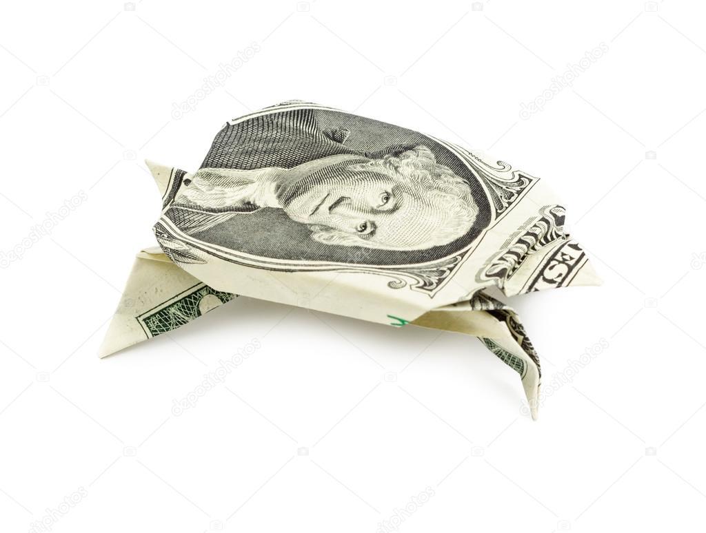 Origami Turtle - Origami Dollar Bill - YouTube | 774x1024