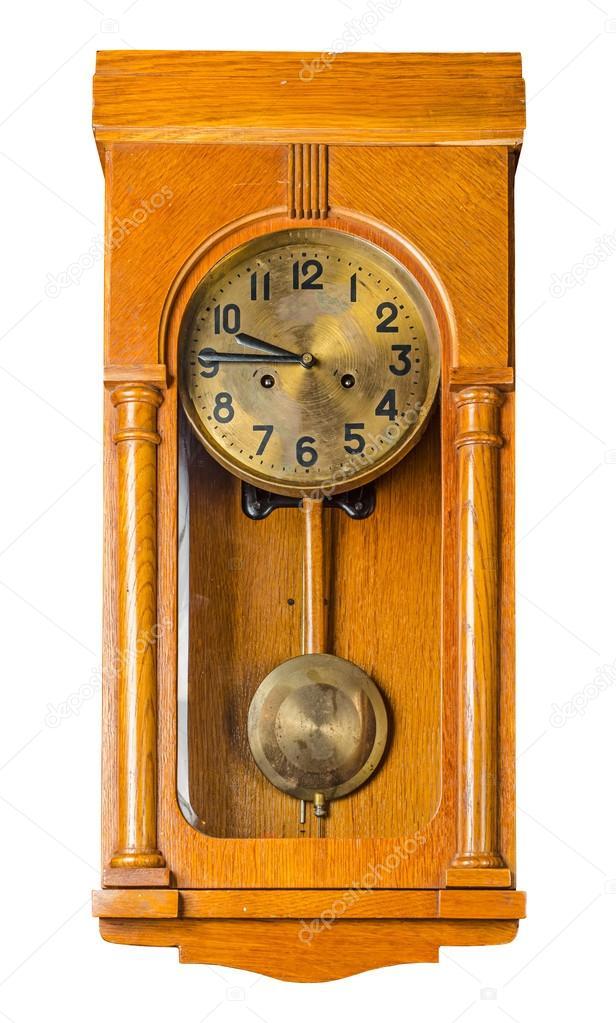 Orologio pendolo da parete — Foto Stock © Martina_L #55623697