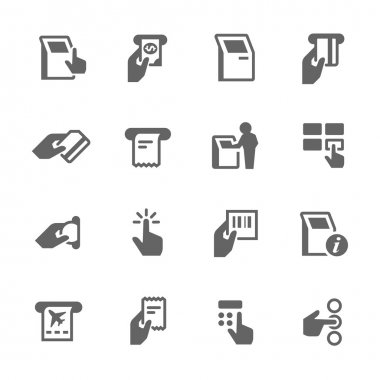 Simple Kiosk Terminal Icons