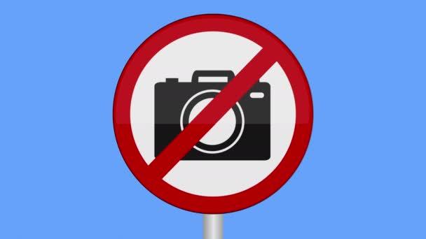 Symbol místa, kde lidé nesmějí pořizovat fotografie nebo nahrávat video a používat skryté, špionážní nebo bezpečnostní kamery.