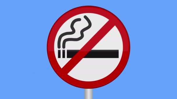 Symbol místa, kde lidé nesmějí kouřit.