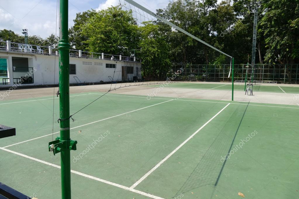 Imágenes Canchas De Voley Cancha De Voleibol Al Aire Libre Foto