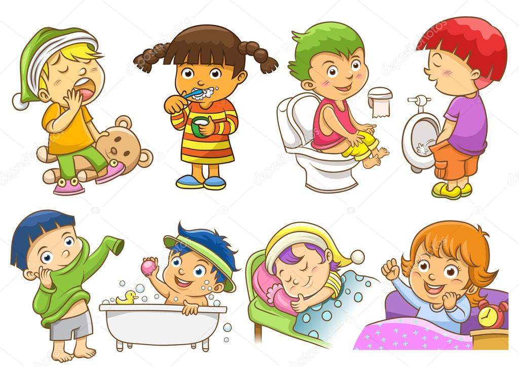 childs daily activities - HD4762×3313