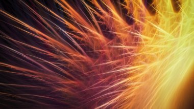 Bright colorful sparks