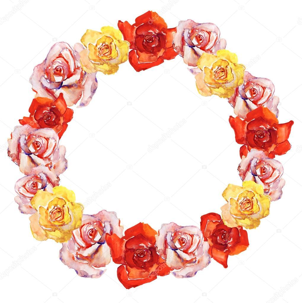 Botánica floral fondo enmarcado — Fotos de Stock © olies #56486249