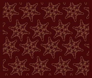 Seamless pattern with snowflakes. Perfectly for decoration, textile printing, printmaking, postcards, and many other uses icon