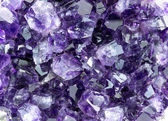Background macro texture of purple amethyst