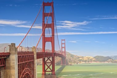 The Golden Gate Bridge in san-Francisco Remains  One of the Most Prominant American Landmarks