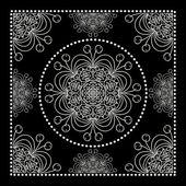 Fotografia Black Bandana Print