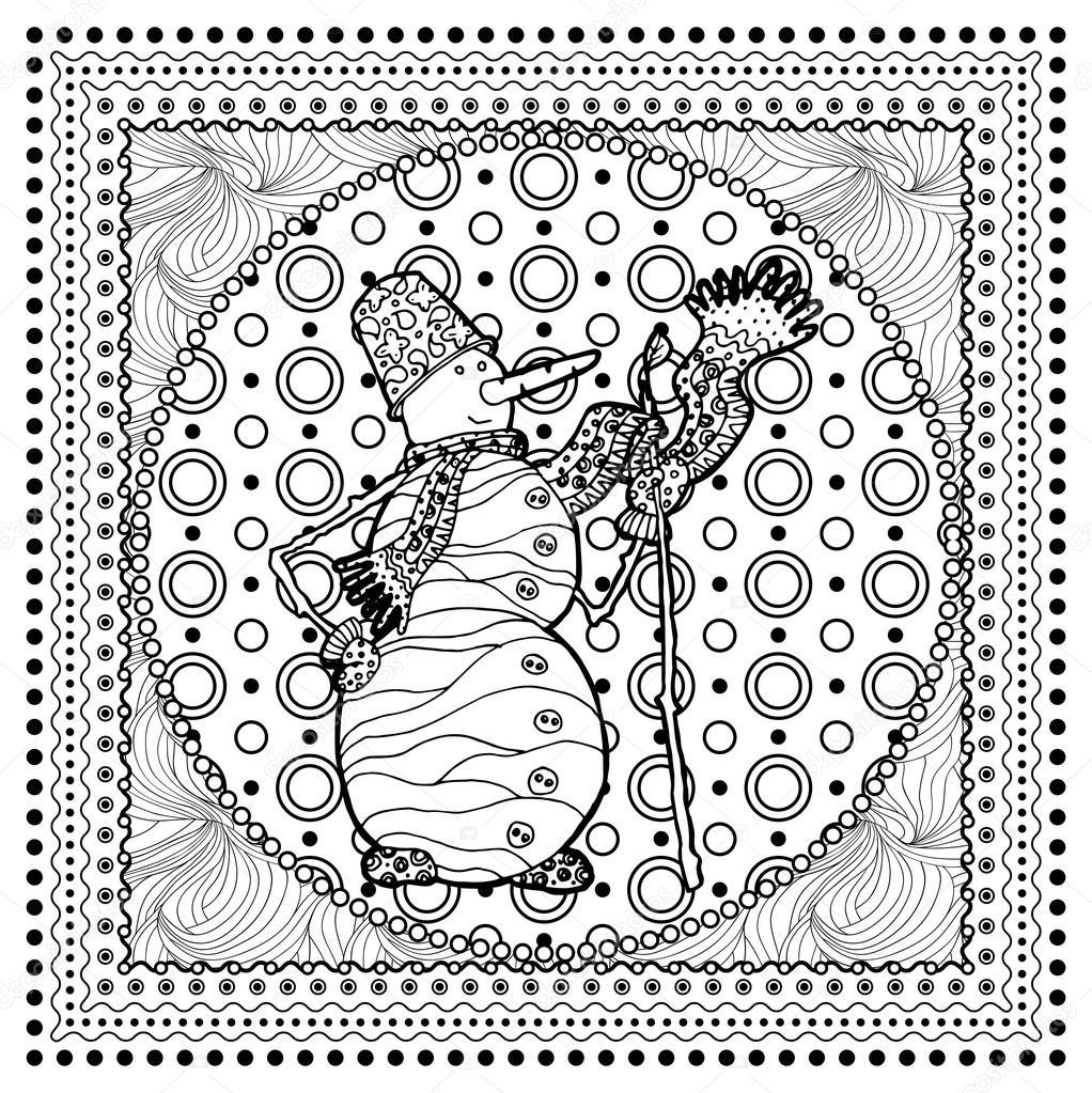 Boże Narodzenie Kolorowanki Strona Książki Grafika Wektorowa