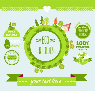Eco friendly stickers