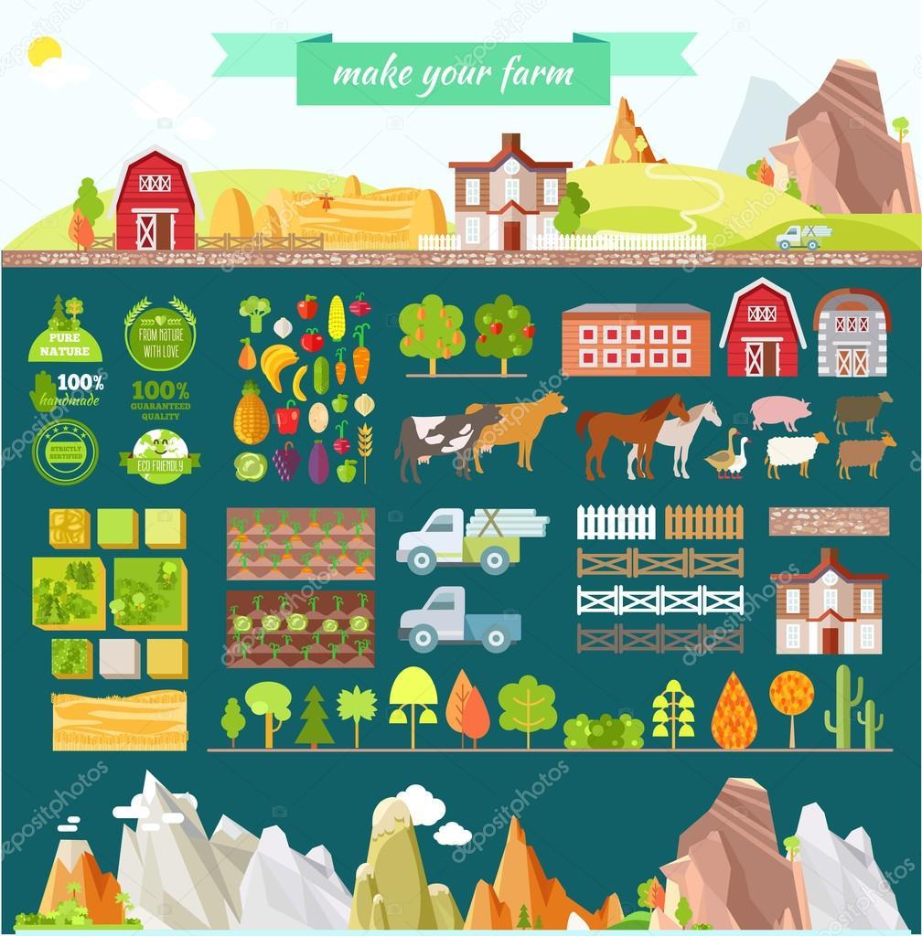 Create your own farm.