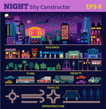 Night city constructor