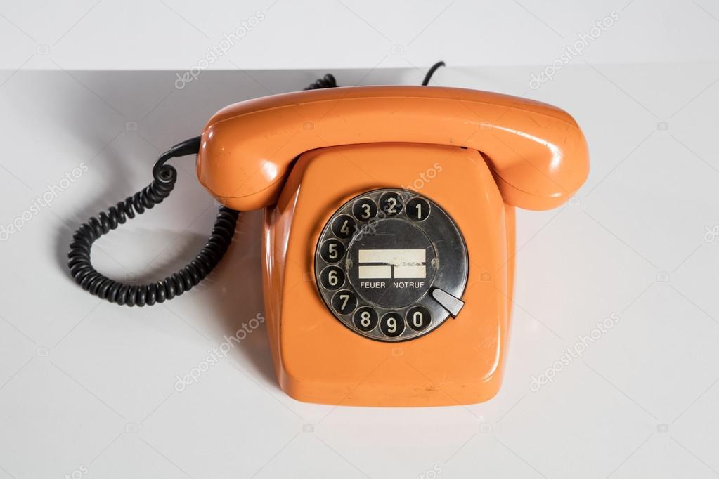 Telephone, Retro  The Classic telephone  — Stock Photo © kokal