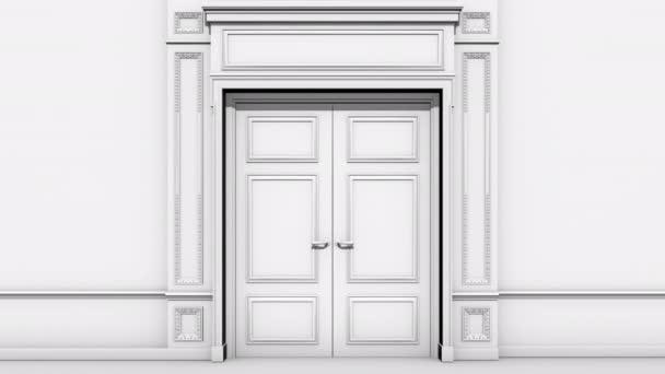 Door Room Opening Alpha Channel