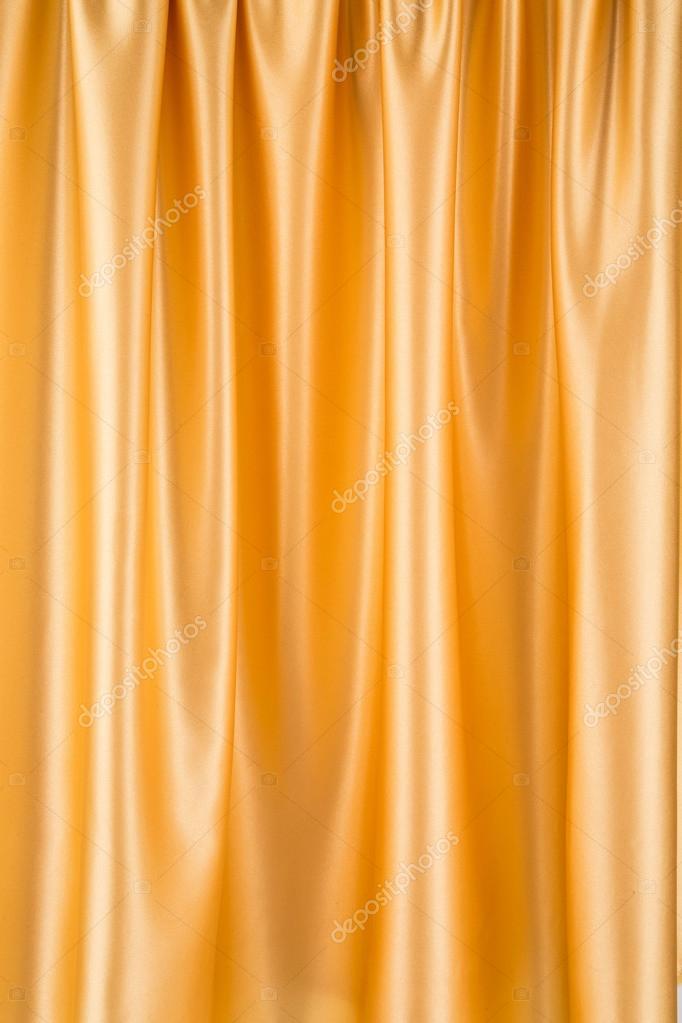 gouden zijden gordijnen — Stockfoto © indigolotos #70133161
