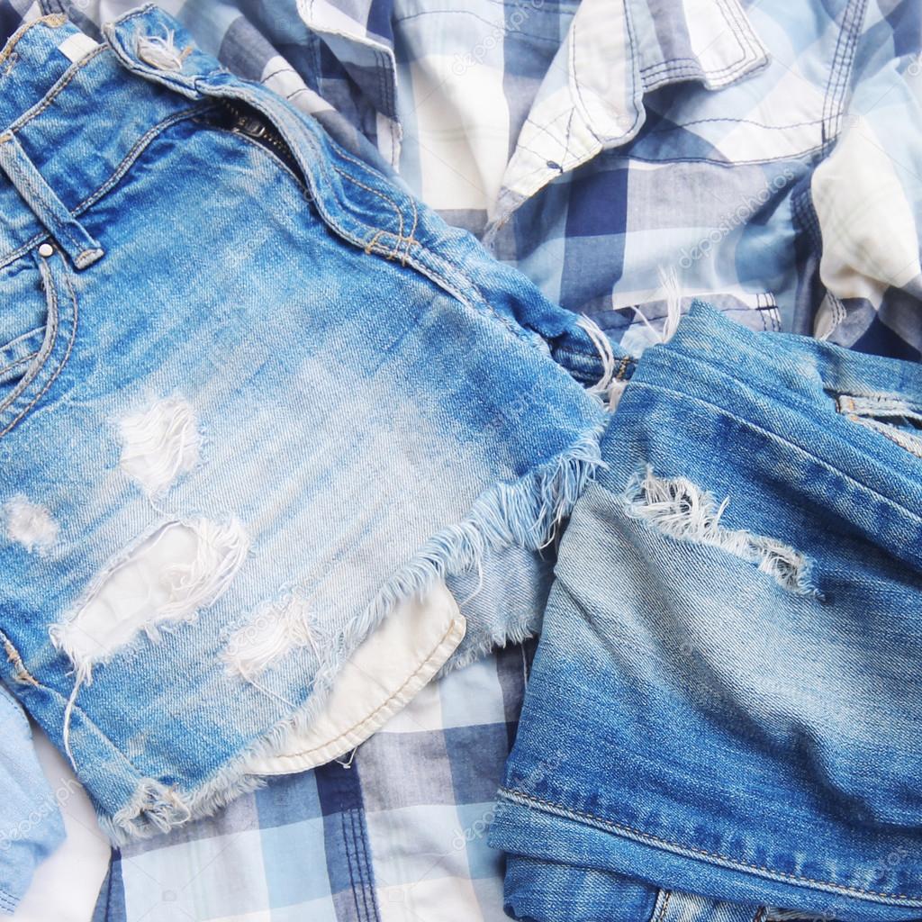 252a719974 textura de textura de jeans viejos — Foto de stock © apolobay  103815162