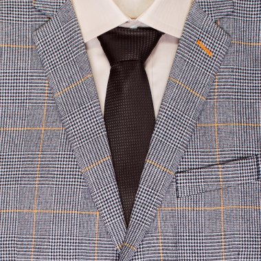 men's jacket and tie