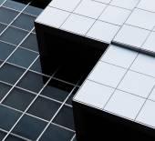Fotografie abstraktní architektura moderní budovy