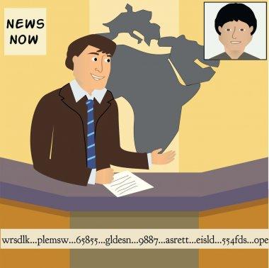 TV News Anchor Man