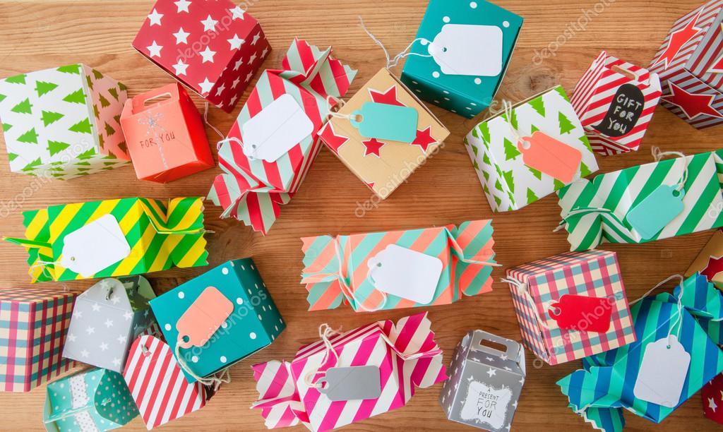 Kleine Geschenke Für Weihnachten Stockfoto Barbaraneveu 83704898