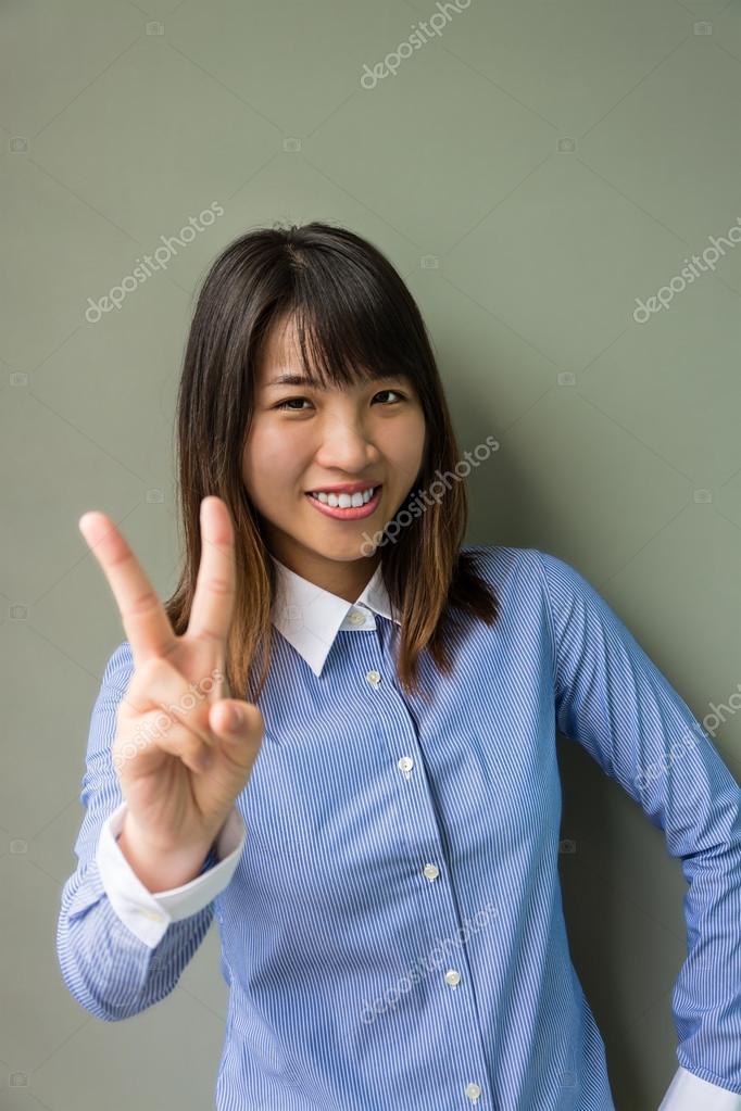 dreamy thai asian woman