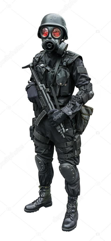 soldat de la force sp ciale portant l 39 uniforme militaire. Black Bedroom Furniture Sets. Home Design Ideas