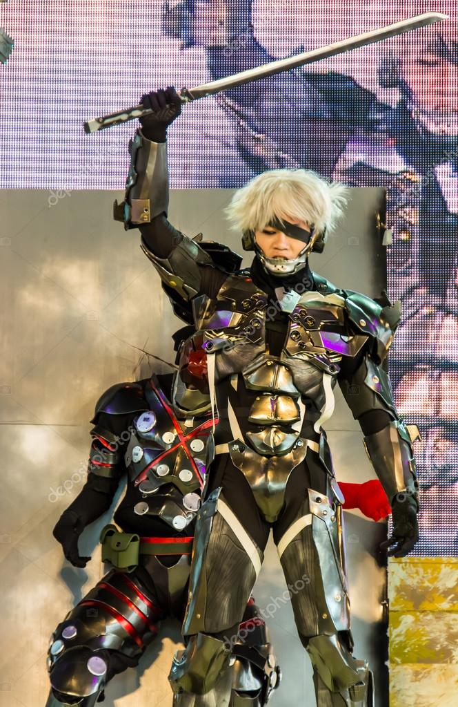 Metal Gear Rising Performance In Oishi World Cosplay Fantastic 7 Stock Editorial Photo Gow27 83186994