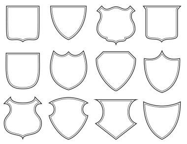 Shield shapes