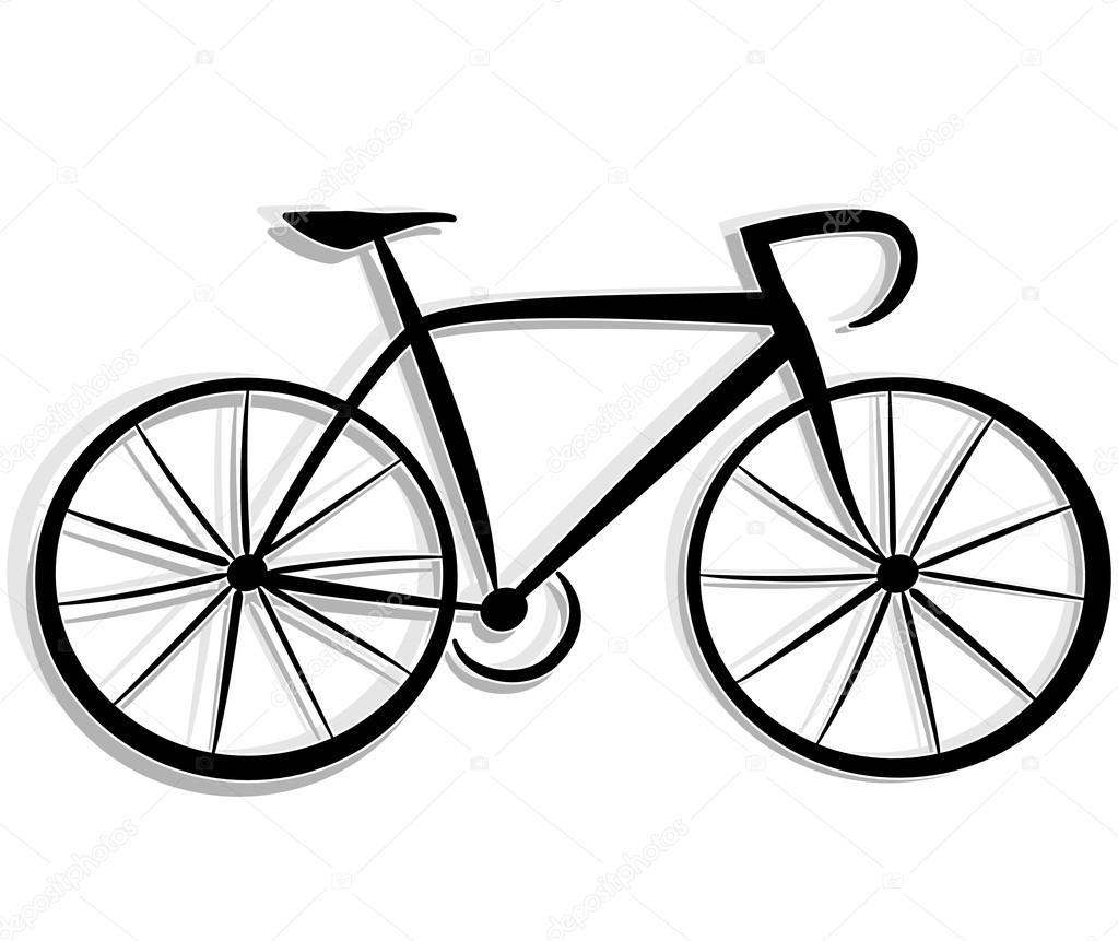 Disegni Di Biciclette Illustrazione Del Disegno Di Biciclette